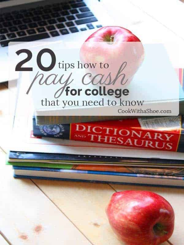 20 tips to pay cash for college that you need to know