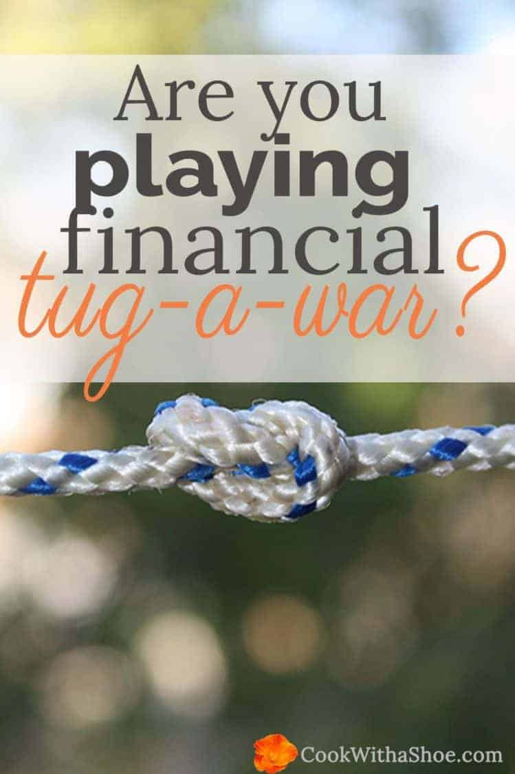 are you playing financial tugawar