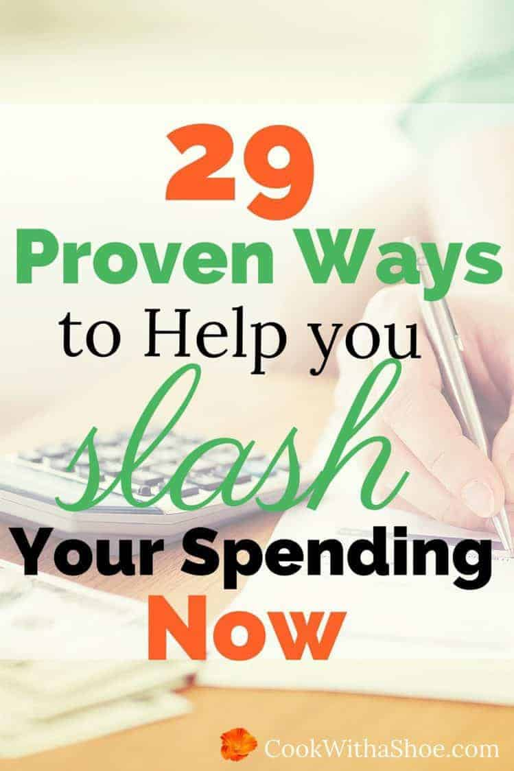 Ugg! Tired of overspending again?? There is hope and you can stop overspending, check out these 29 proven ways to slash overspending now!