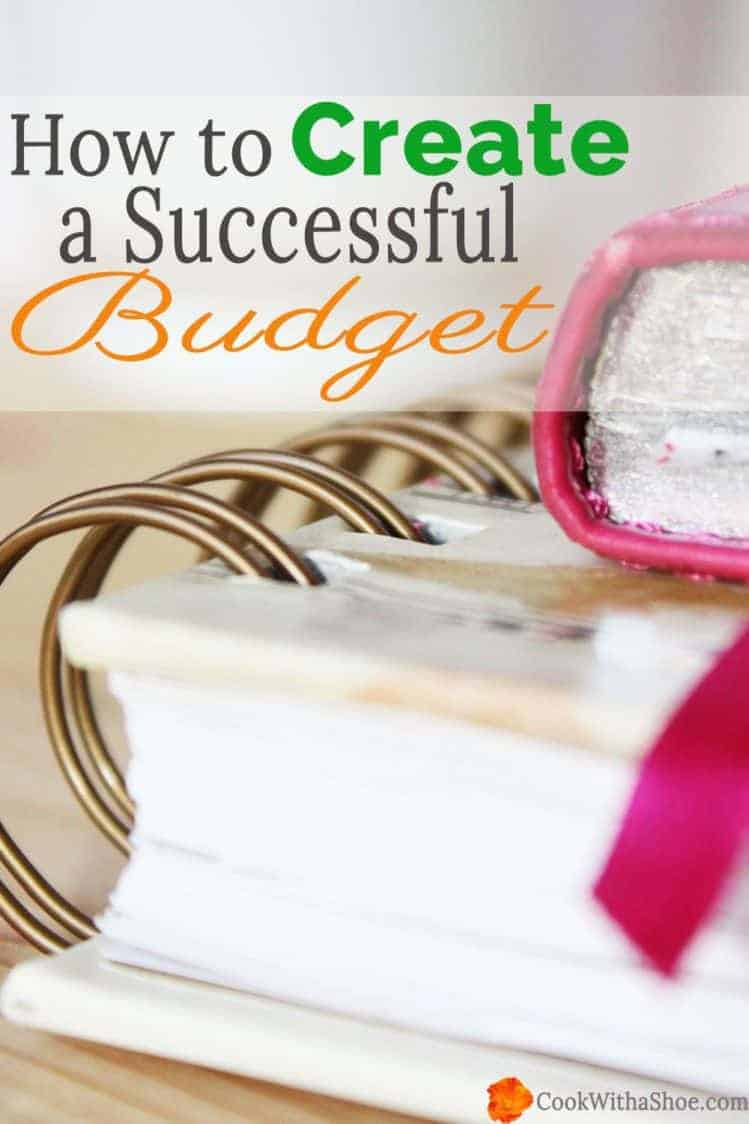 Does budgeting stress you out?? It did for me too, until I discovered 3 secrets which transformed my failing attempts into a successful budget! And they can do the same for you too!! I will show you how. |Cook With a Shoe