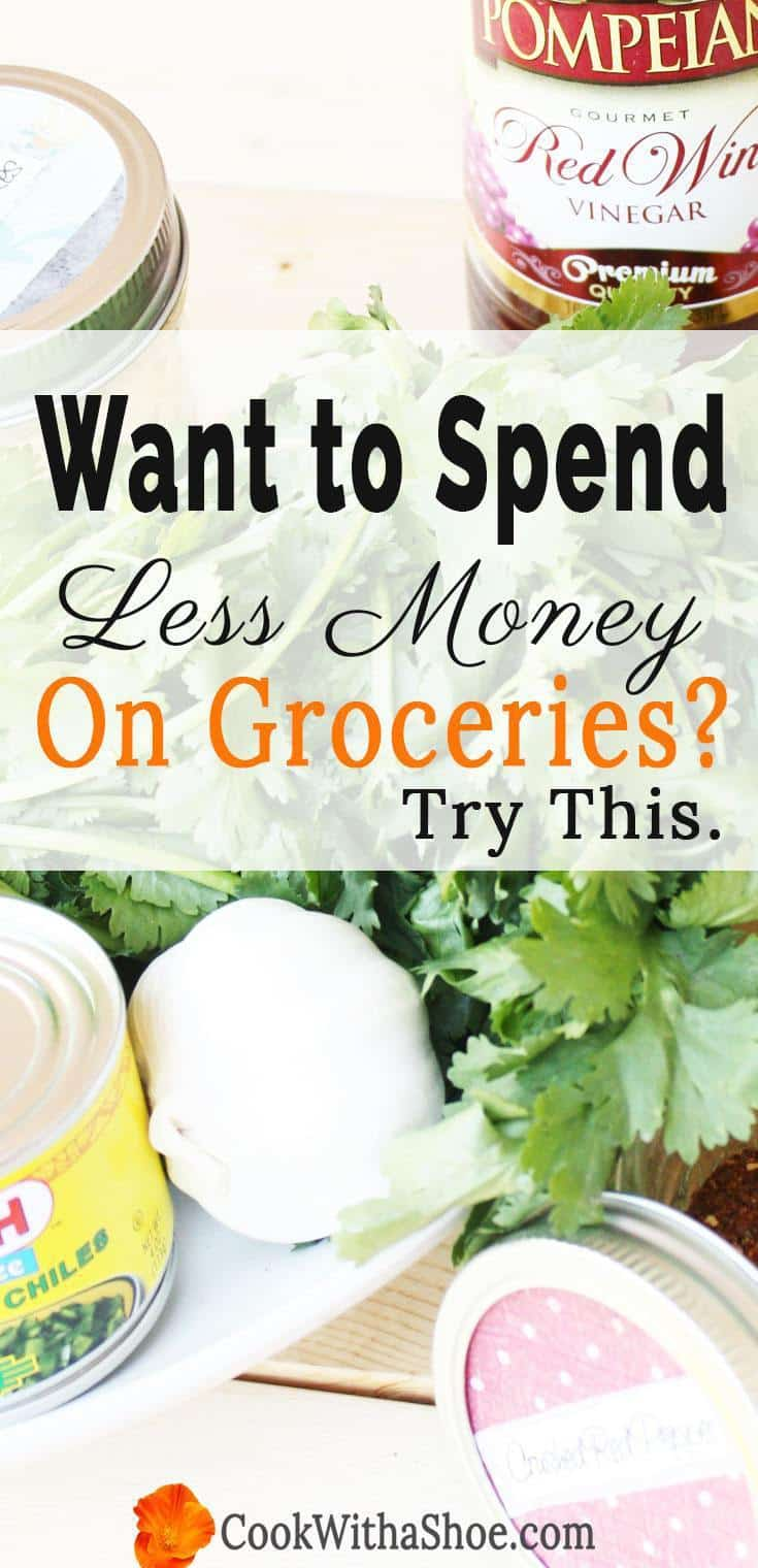 Inside: You can spend less on groceries without taking out a loan each time you go to the store. Read the best tips real people use to save money on food. Cook With a Shoe