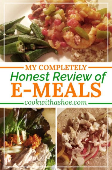Meal planning with eMeals: My honest review if eMeals saves time, money and hassle... |Cook With a Shoe