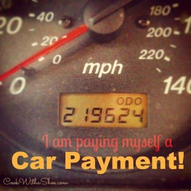Paying myself a car payment