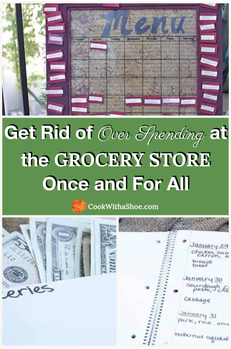 Get Rid of Over Spending at the Grocery Store Once and For All (without hating yourself in the process)