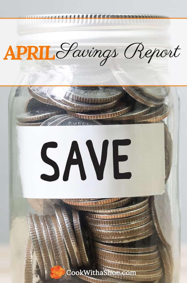 April Savings Report