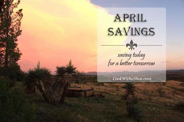 April Savings