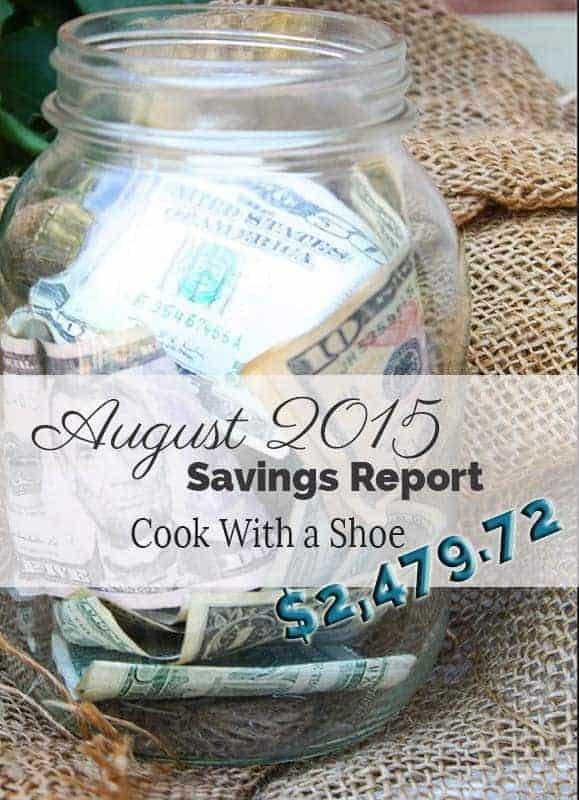 August savings report