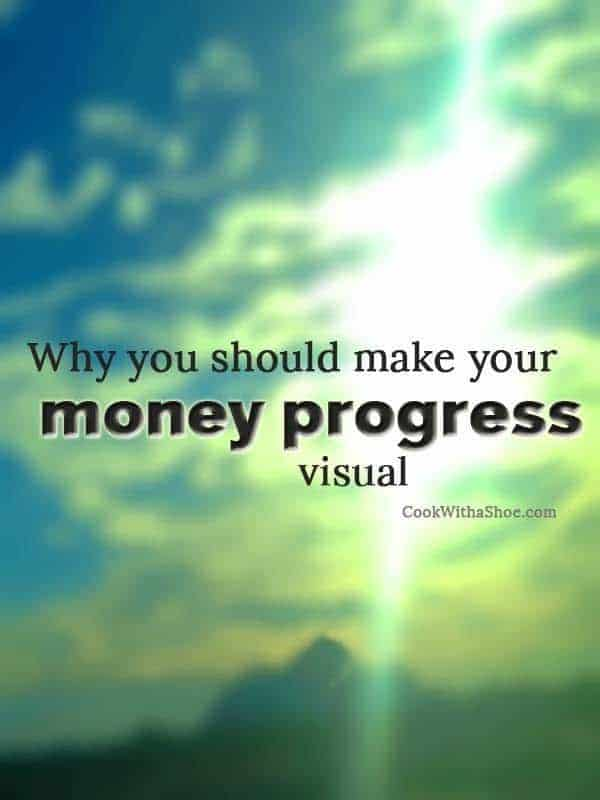 Why you should make your money progress visual