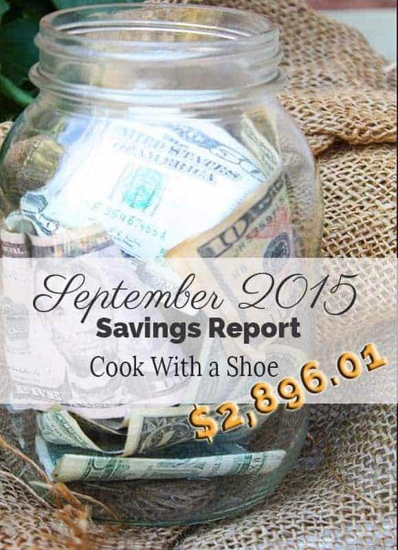 September Savings Report