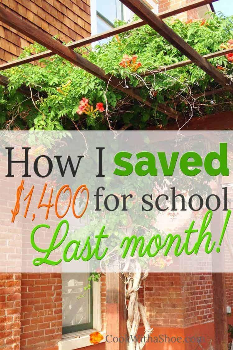 October savings report