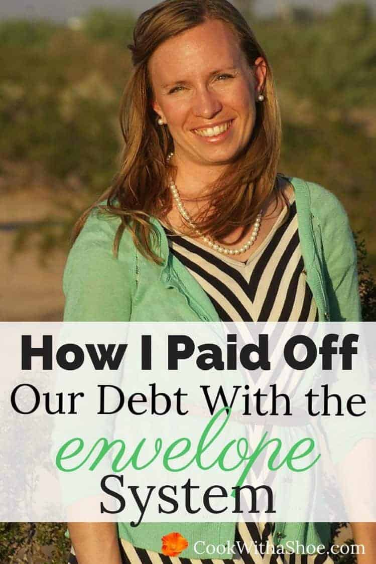 Do you have a lot of debt? Think you'll never get rid of it?? You CAN pay off all your debts... just think, what could you do with no payments? I paid off all my debts while cash-flowing my husband's school! |Cook With a Shoe
