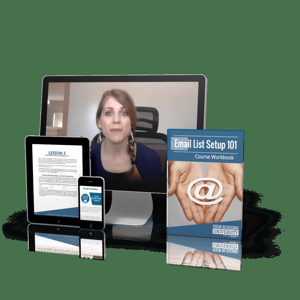 Email List Setup 101 Online Course