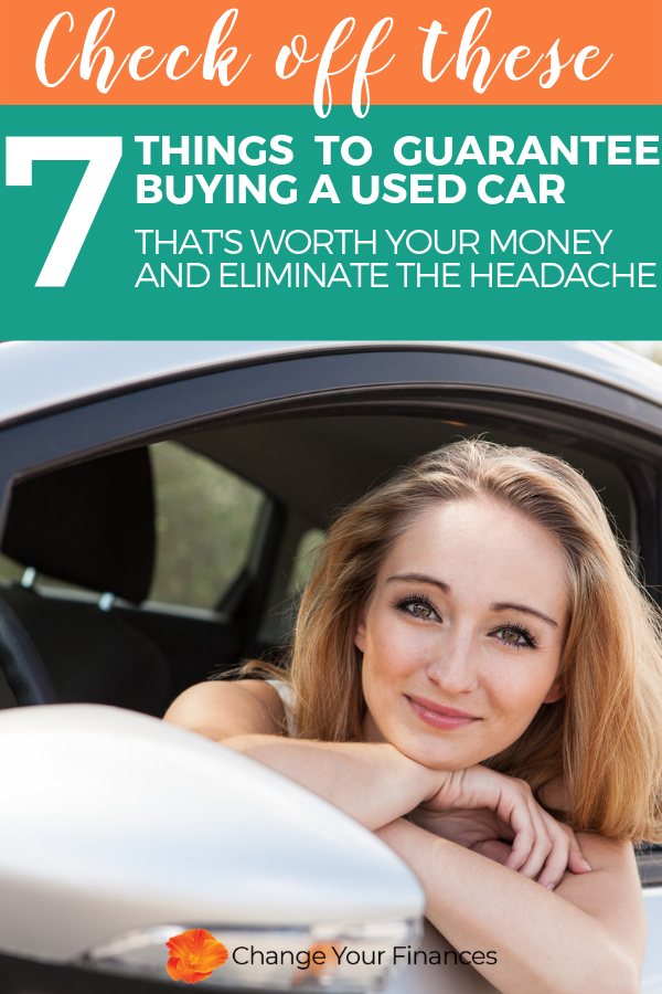 Don't be ripped off when buying a used car. 8 excellent tips to avoid the headache of being ripped off when buying a used car and get the best deal for your money. #buyacar #usedcar #carbuyingtips #money | Change Your Finances
