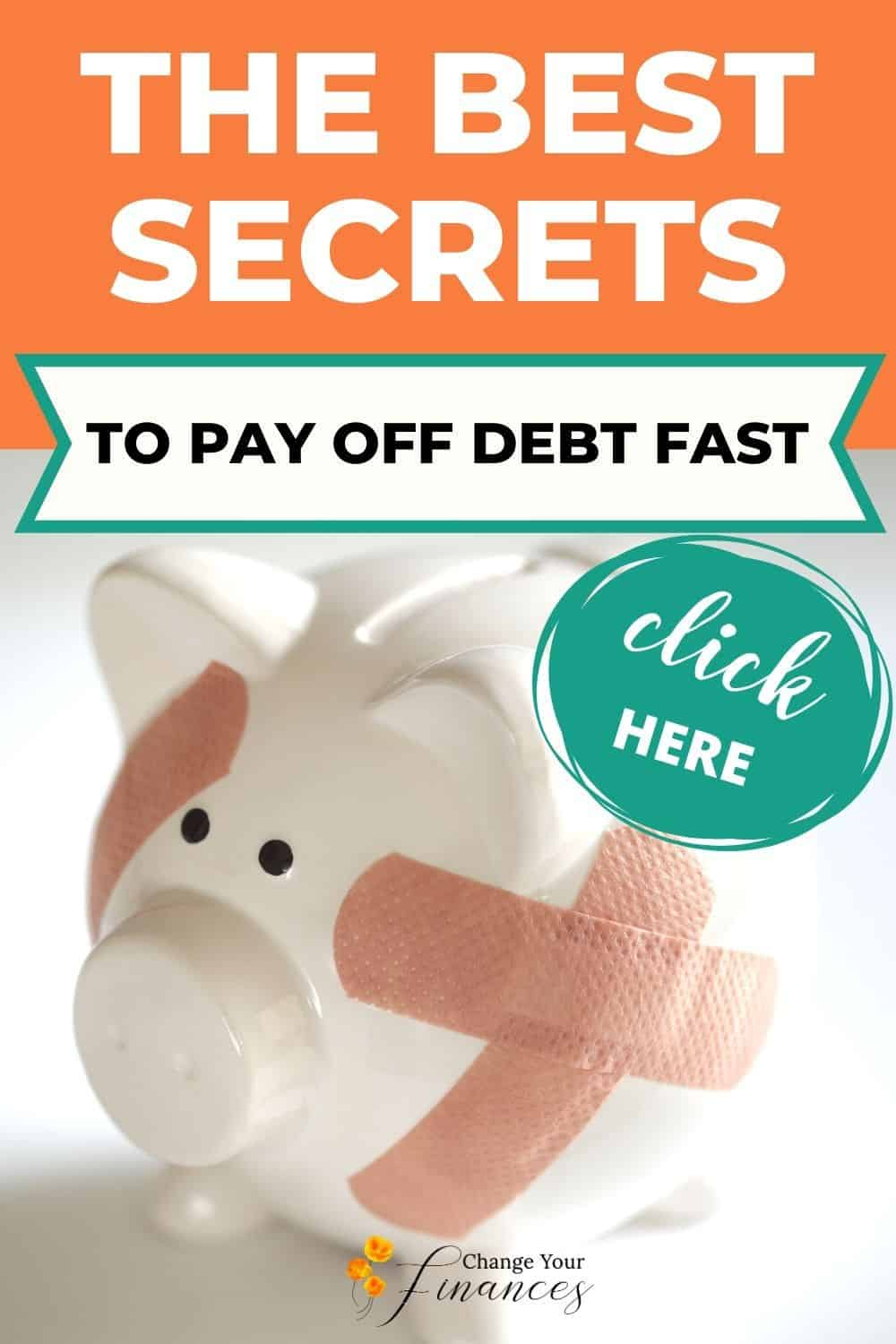 The Best Secrets to Pay Off Debt Fast On a Low Income and Get On With Your Life