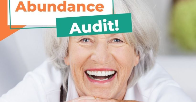 Day 13 Ladies Savings Challenge: Abundance Audit