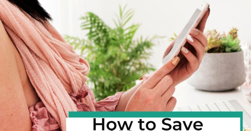 Day 6 Ladies Savings Challenge: Use Phone to Save